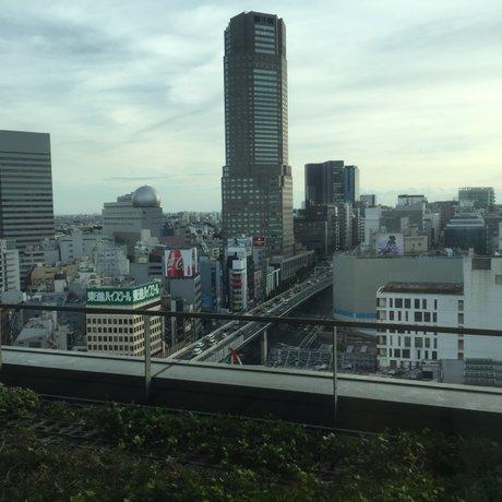渋谷ヒカリエ スカイロビー