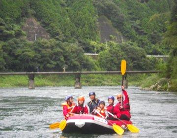 水質日本一!高知県【仁淀川】でアクティブに観光しよう♪ラフティング、カヌー、バーベキュー!