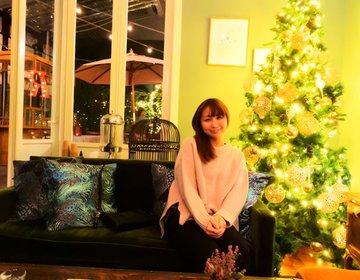 【クリスマスに訪れたい穴場カフェNo.1】気分はホームパーティ♡靱公園でいただく絶品アジア料理♡