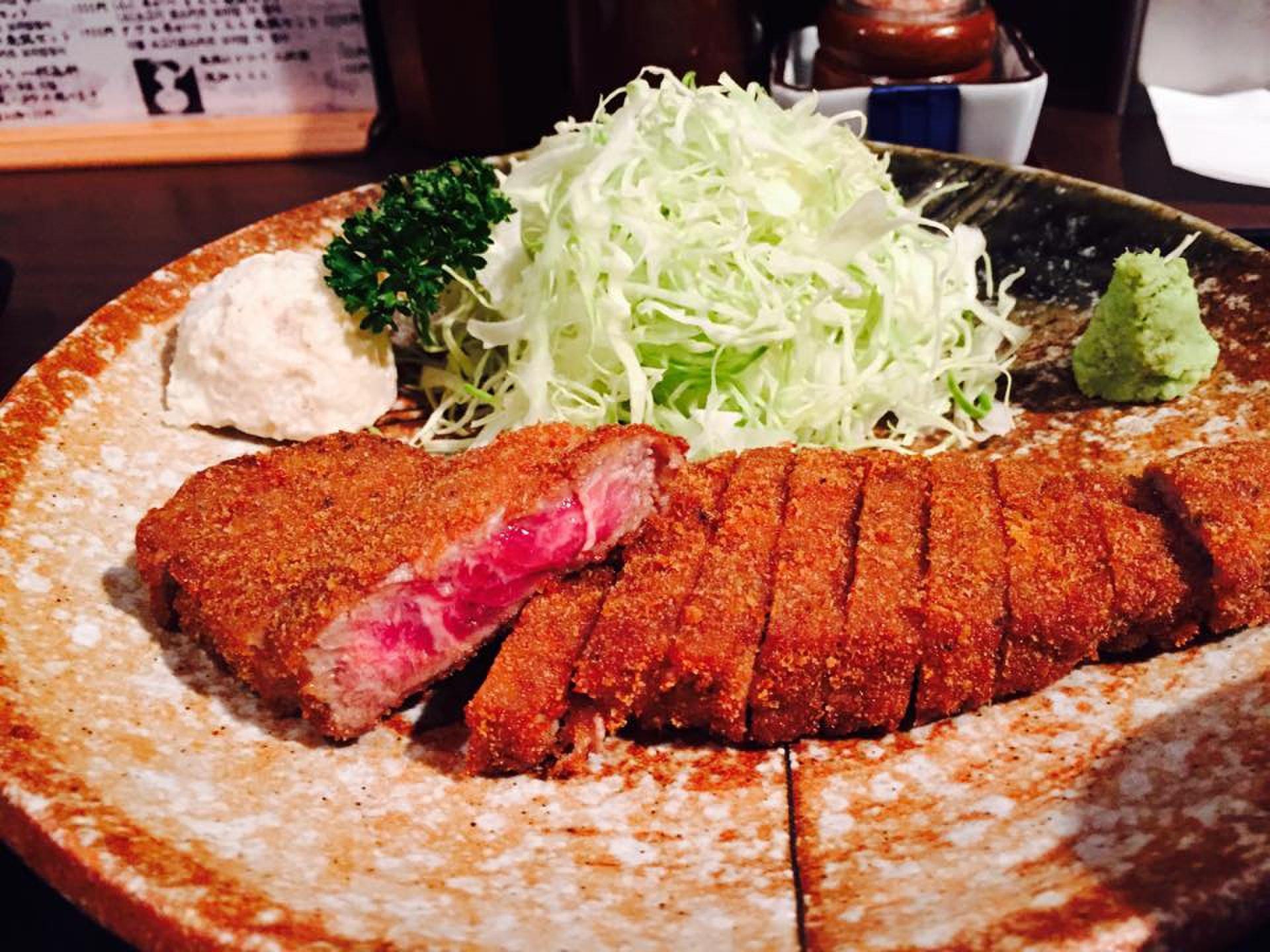 【渋谷で美味しい牛カツを食べる】もと村で新感覚のカツを堪能