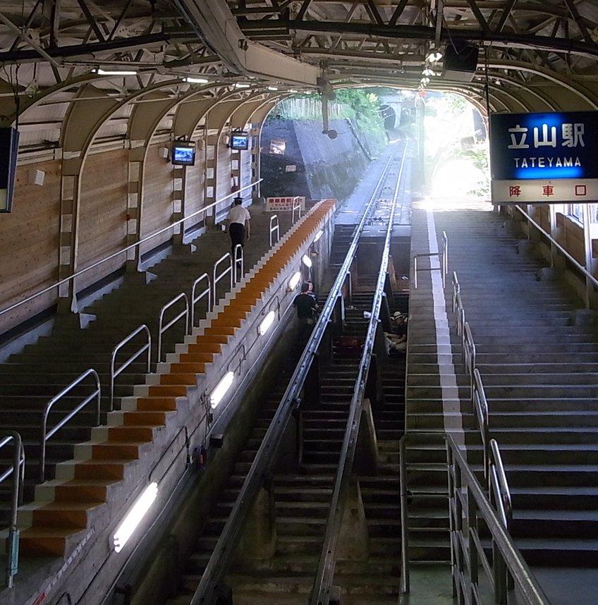 立山黒部アルペンルート立山運営所ケーブルカー・立山駅
