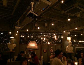 【渋谷の夜カフェならandpeopleでしょ!】おしゃれ女子なら知っているキャンドル灯る異空間カフェ