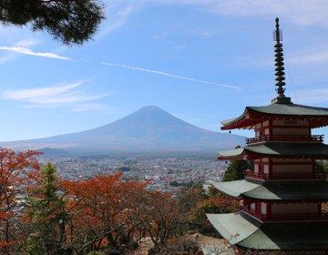 世界が認めた、日本の絶景!新倉山浅間公園から見る、富士山と五重塔♪春の桜も圧巻です!