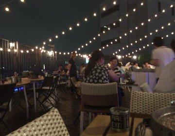 夏はビアガーデンでしょ!大阪・難波で星空ビアガーデンからのお洒落バーで大満足な夜を♡