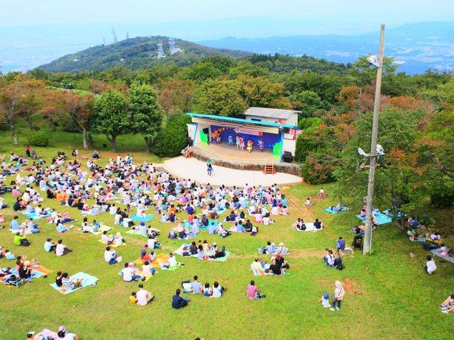 遊園 生駒 地 山上