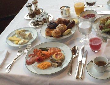 """【新宿の贅沢モーニング】豪華!高級ホテル""""ジランドール""""の一流モーニングで優雅な朝を♪"""
