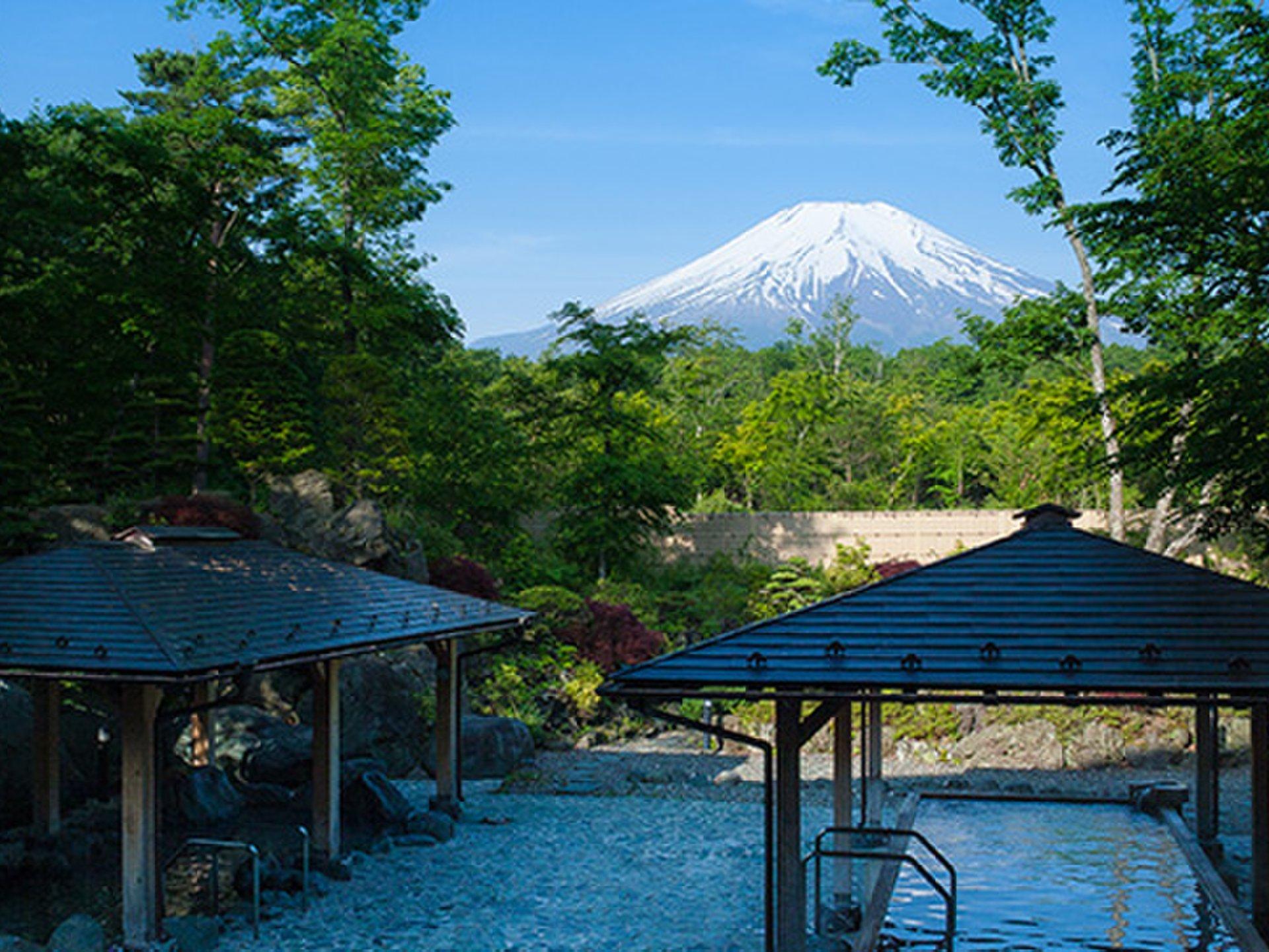 富士山の見える山中湖へドライブ!日帰り温泉とご当地グルメ『ほうとう』を楽しむ!