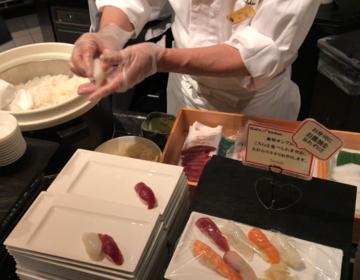 北海道の魅力が満載♡目の前でお寿司も握ってもらえる!北海道ソフトクリームもあるブッフェランチを発見