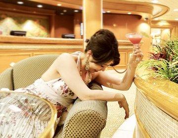 【1週間飲み放題してみた】船上で飲み放題!ダイヤモンドプリンセスで酔っ払ってきた