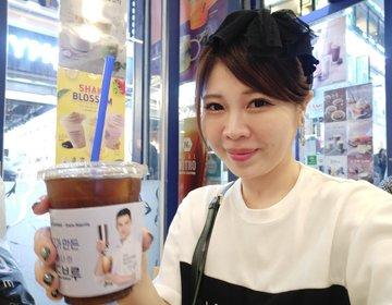 明洞で買い物に疲れたら寄りたい元祖激安コーヒーチェーン「EDIYA COFFEE」で休憩タイム。