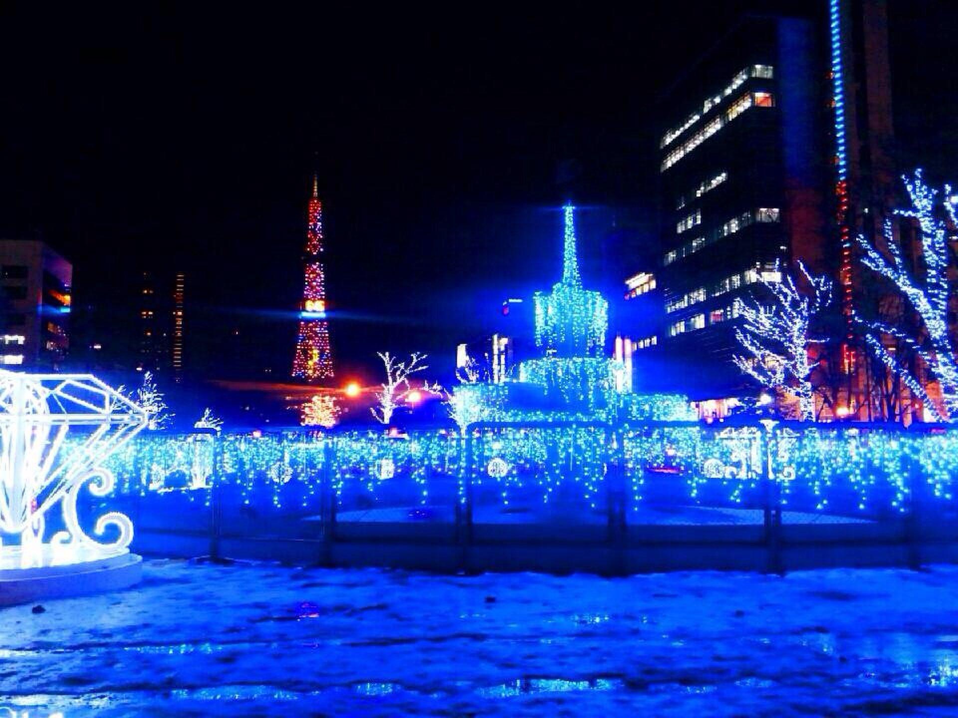 【札幌冬のデートならここに決まり!】大通公園のさっぽろホワイトイルミネーションを見に行こう!