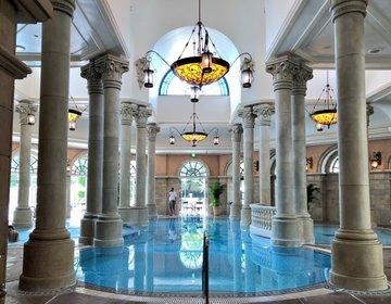 【東京ディズニーシーの中にプールを発見】ミラコスタの「テルメ・ヴェネツィア」がスゴかった!
