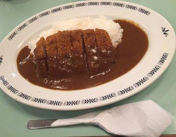 【三宮センター街地下のカレー店へ】ピリピリ辛いガンジで食べる絶品牛カツカレー