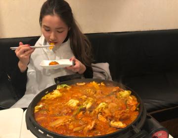 浅草おすすめディナー♡浅草寺観光の後は韓国料理でチーズタッカルビ!