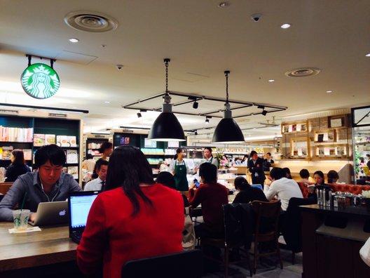 スターバックスコーヒー アトレ恵比寿店(5F)
