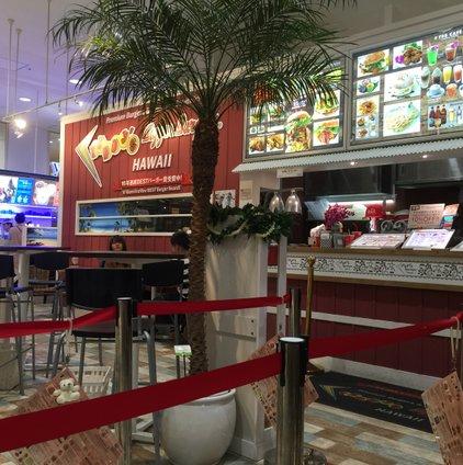 テディーズ ビガー バーガー 横浜ワールドポーターズ店
