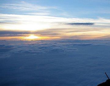 富士山(御殿場ルート)を、混まないで登頂、ご来光を見る!【御殿場口、大砂走り、頂上富士館、大石茶屋】