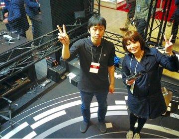 幕張メッセ【Japan Drone 2017】で大人気の空撮機Mavic Proを無料で操縦体験