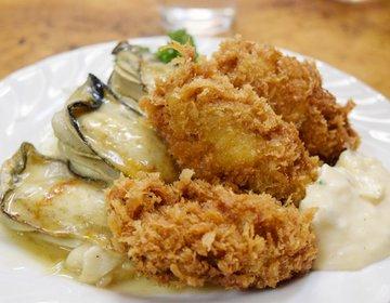 朝4時から営業!早朝の築地でぷりぷりジューシーな牡蠣が食べられる穴場定食屋「小田保」へ行ってみた。