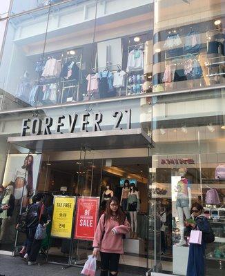 FOREVER21原宿店