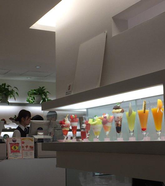 タカノフルーツパーラー 本店