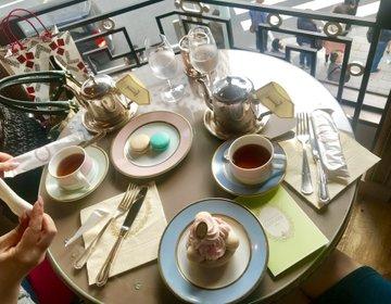 居るだけでお姫様気分♡ゴージャスなカフェ。銀座周辺でおすすめのスイーツカフェ、ラデュレへ。