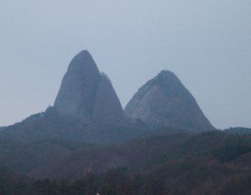 韓国の奇山&パワースポット・馬耳山を訪れ、名物の骨付きの黒豚を豪快に食べる!【ポッコッマウル、塔寺】