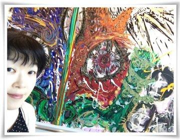 【永田町・新宿】話題のアート、映画、お出かけ★神獣〜エリア21〜 小松美羽展~映画鑑賞~