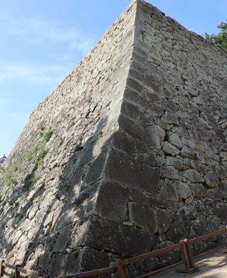 姫路城 扇の勾配