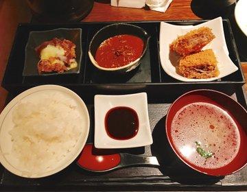 【遅めのランチに】赤坂金舌の13時以降限定、「遅得定食」を堪能♡