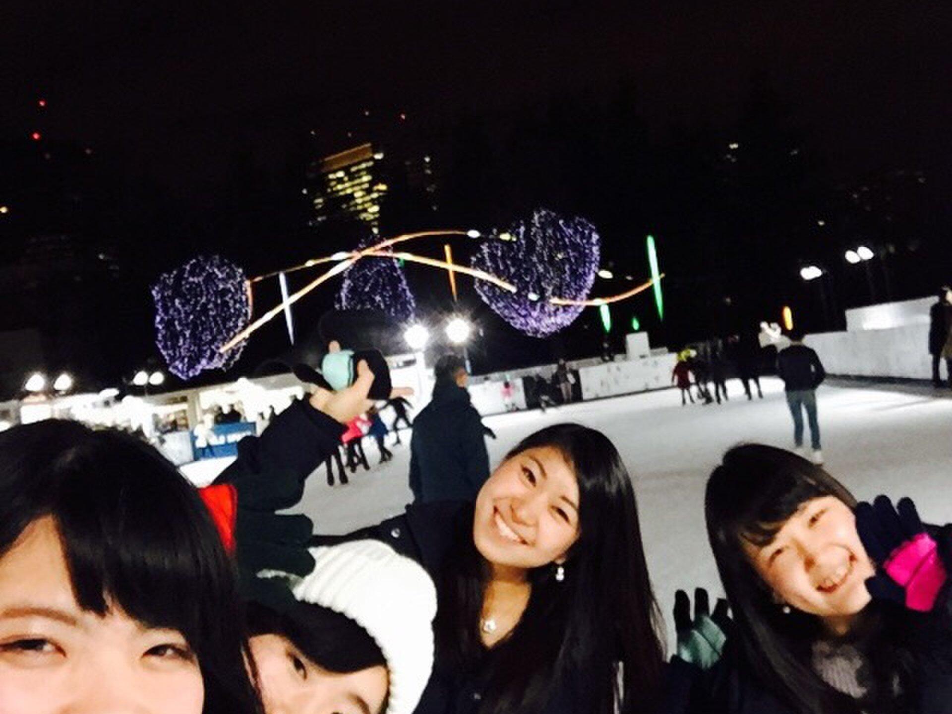 【寒い冬にしたい冬スポーツ!スケート】イルミネーションを眺めながらスケート後は六本木ヒルズでディナー