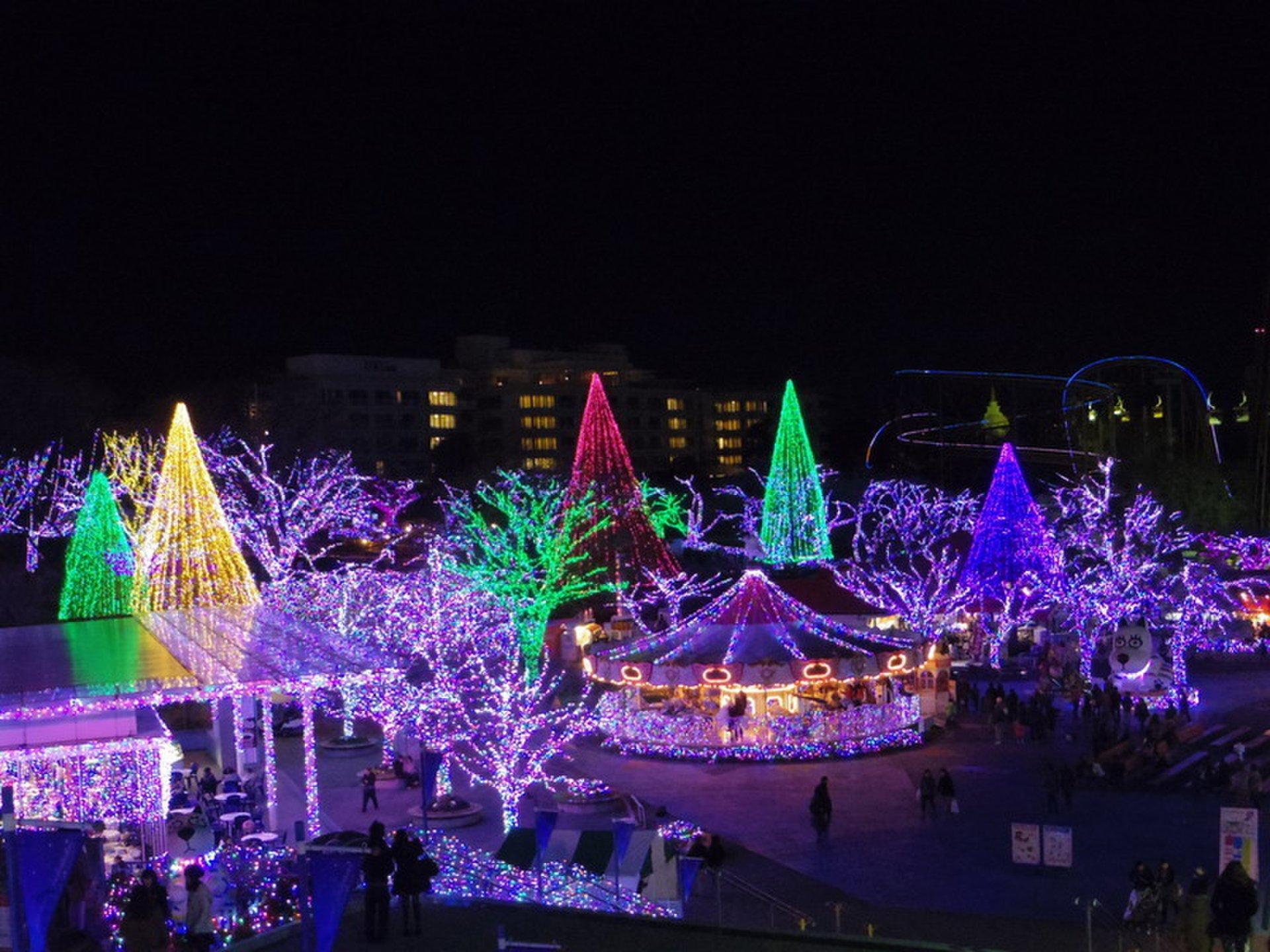 2014年イルミネーション情報「よみうりランド」ジュエルミネーションは去年より拡大?!