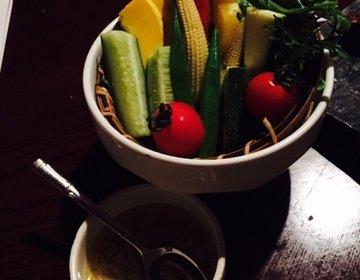 【新宿】備長炭!秘伝の味噌たれ!減農薬野菜!「鳥元」で焼き鳥女子会!