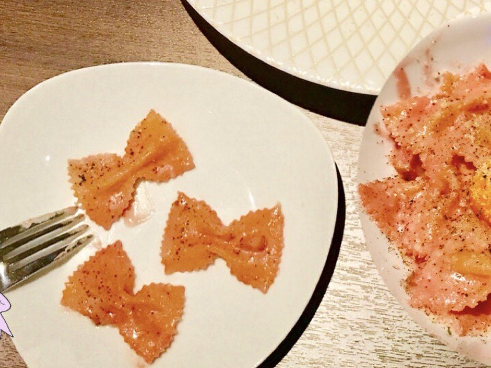 新宿駅直結!ピンク・リボンのカルボナーラ発見♡【新宿・タイ料理・フォトジェニック・リボン・】