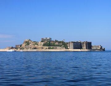 長崎県・軍艦島(端島)、廃墟となった炭鉱の町をめぐる【進撃の巨人、007、 B'z、世界遺産】