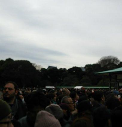皇居 宮殿東庭(新宮殿前広場)