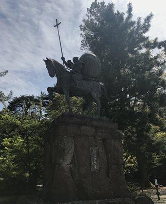金沢城公園 前田利家像