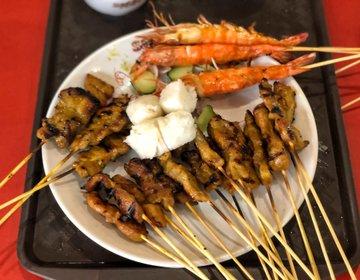 シンガポールおすすめレストラン♡おしゃれディナー・サテーバイザベイ