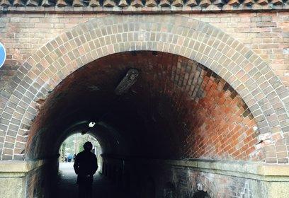 ねじりまんぽ(蹴上トンネル)