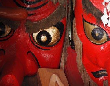 【群馬旅】その迫力に圧倒!巨大な天狗のお面がお出迎え!沼田市にある「弥勒寺」に行ってみた♪