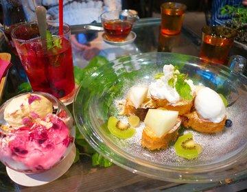 お花に囲まれたカフェでフォトジェニックなフレンチトーストを♡【青山フラワーマーケットティーハウス】