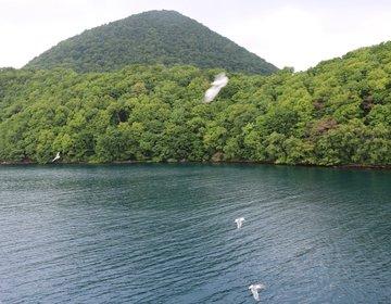 【洞爺湖】遊覧船に乗って風水パワースポット中島へ。森林浴でリフレッシュしよう♪