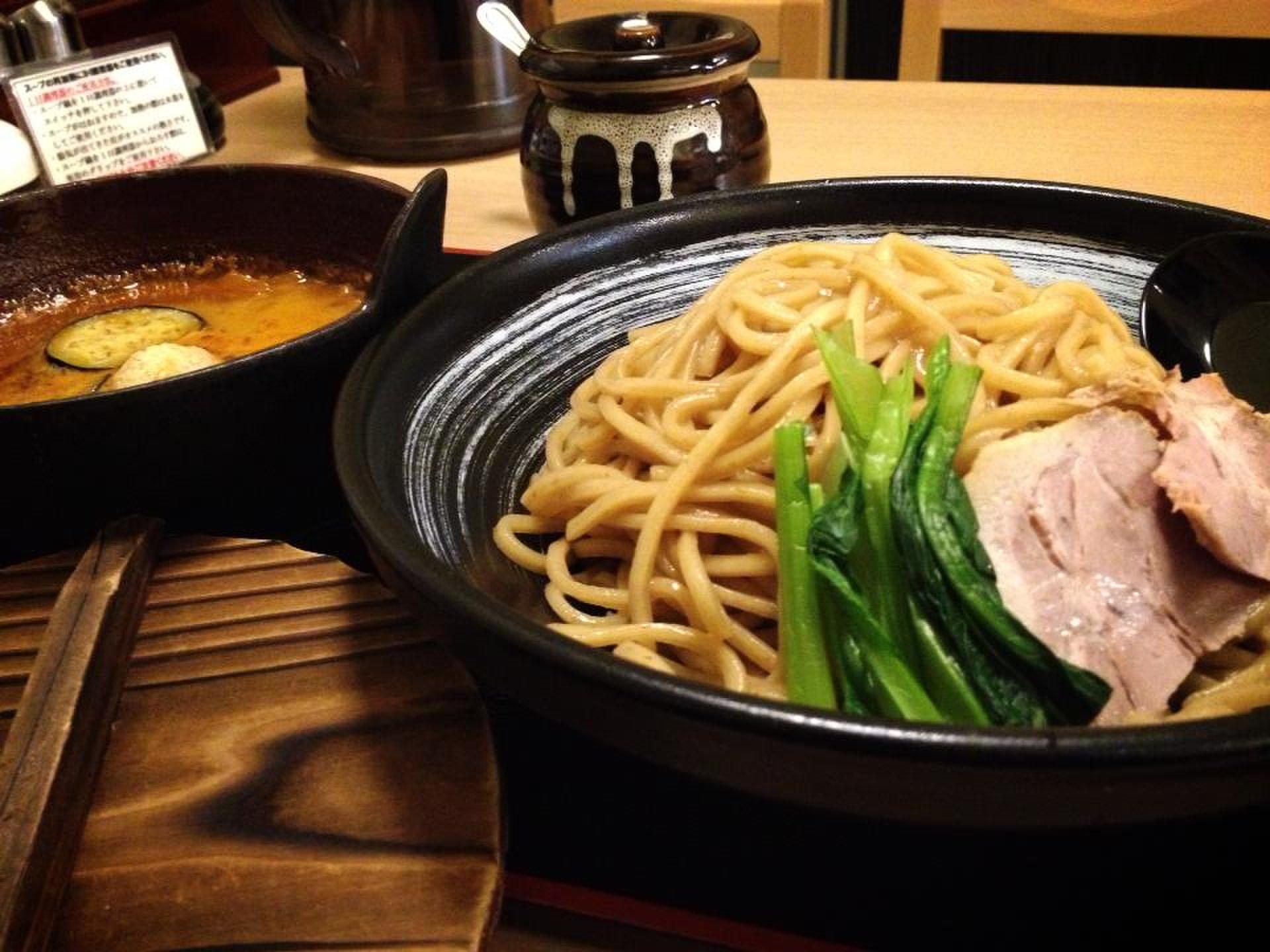 スープが冷めることがない京都おすすめつけ麺専門店☆麺屋もり 【京都おすすめつけ麺】
