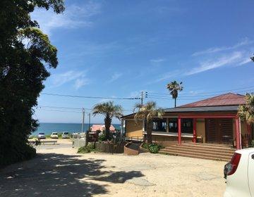 糸島の青い海を眺めながらリゾート気分が味わえる【Hona Cafe 】パンケーキも女子に人気♡