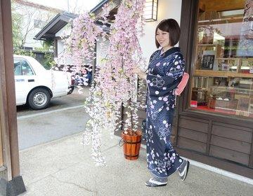 【お花見・角館でレンタル着物】秋田の角館に行ったら着物でお出かけするのが楽しいですよ♡おすすめ観光