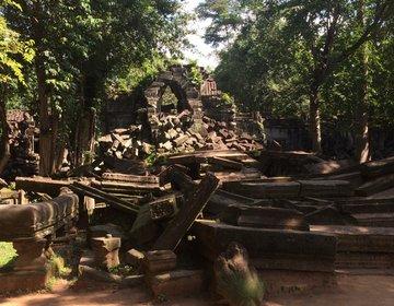 【カンボジア】天空の城ラピュタのモデル『ベンメリア遺跡』に行ってきた!
