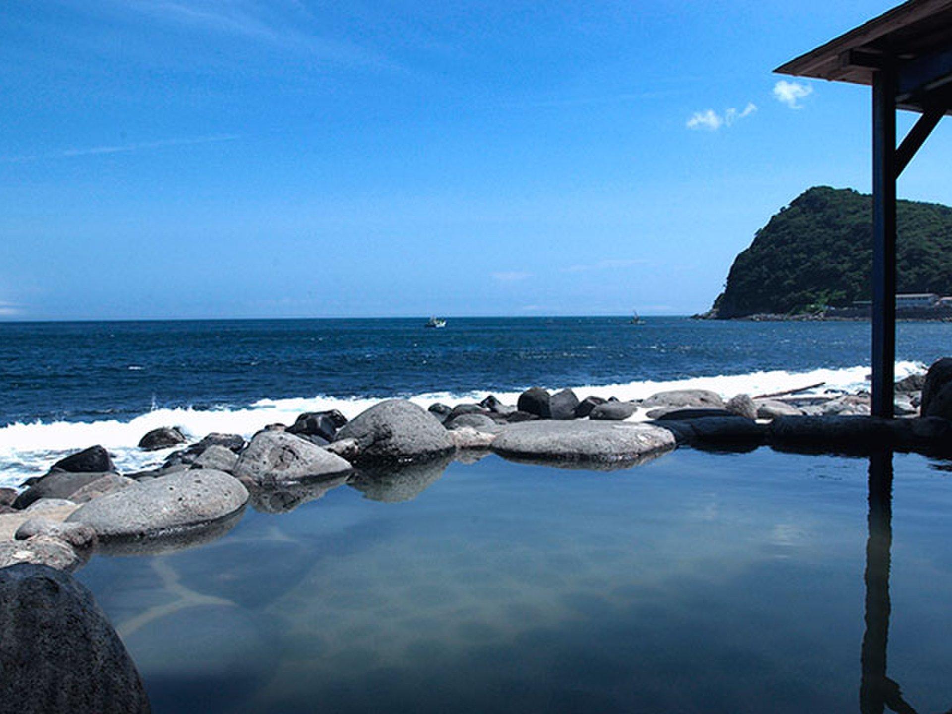 東伊豆 1泊2日(日帰り)ドライブ旅行 混浴風呂とキンメを堪能し、遊びつくす!電車&レンタカー