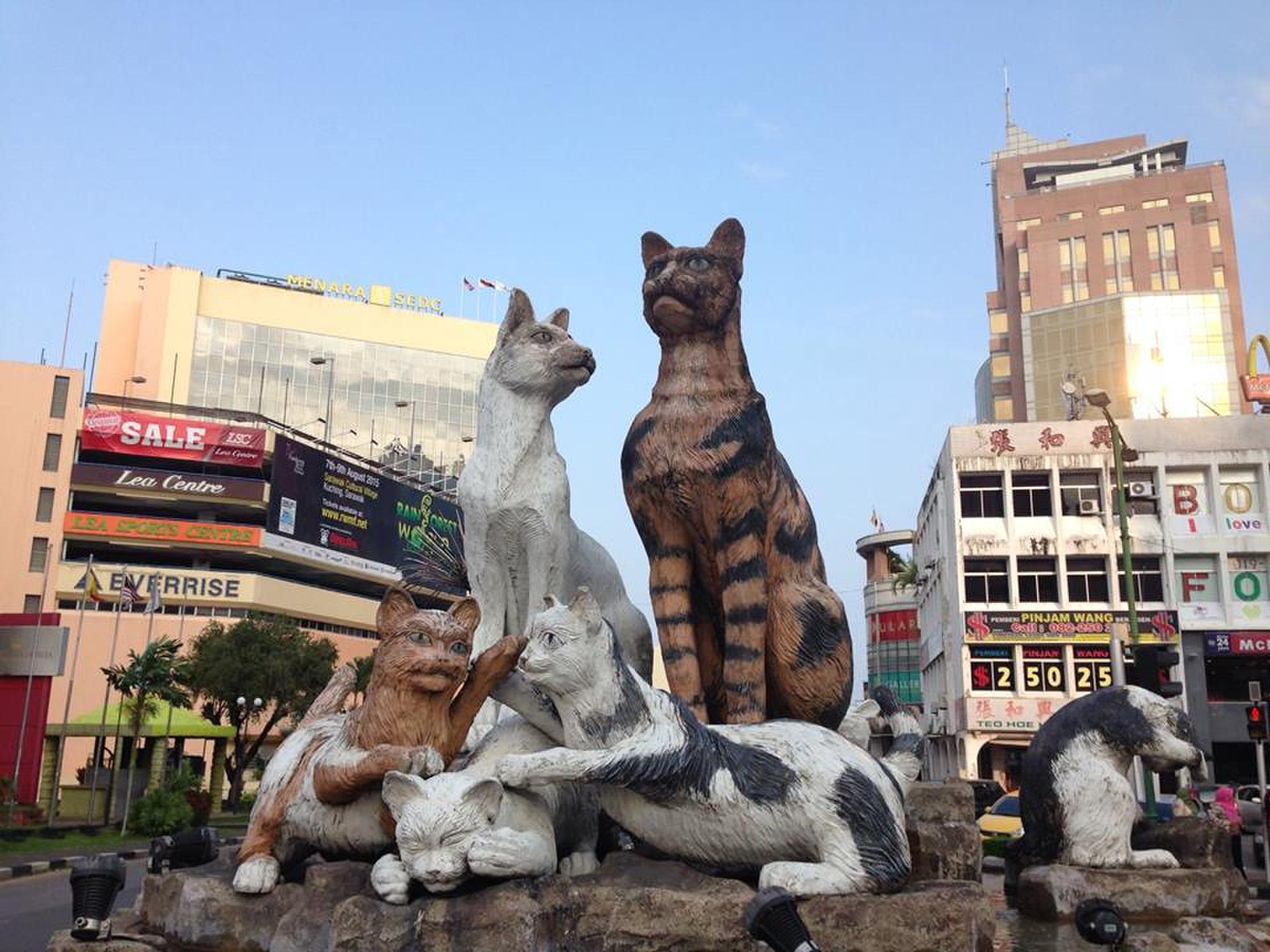 【マレーシア在住が教える】にゃんこ好き必見!「猫の街」クチンに行こう!おすすめ、みどころ