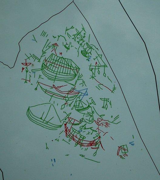 戸森の線刻画