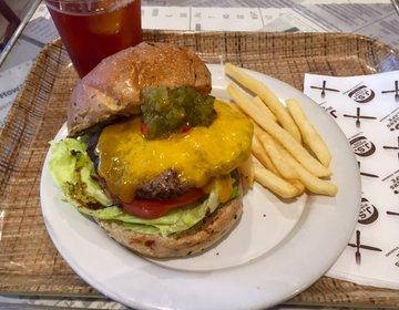 【池袋駅直結】サラダバー付「J.S. BURGERS CAFE」のランチはお野菜食べ放題でヘルシー♪